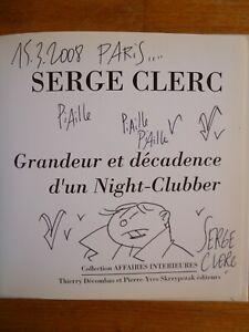 S. CLERC : NIGHT CLUBBER - EO - DÉDICACE