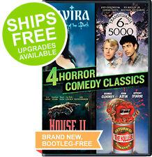4 Horror Comedy, Elvira, Transylvania 6-5000, House 2 II, Return Killer Tomatoes