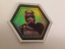 Star Wars Topps Galactic Connexions CAPTAIN PHASMA SILVER Foil DISC  RARE Wave 1