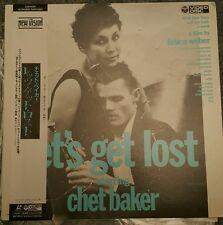 Let's Get Lost (1988) [C59-6291] レッツ・ゲット Laserdisc Bruce Weber Chet Baker Doc