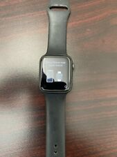 Apple Watch Series 5 44mm Space Gray Case Black Band - Serial #FH7Z874XMLTQ.