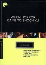 WHEN HORROR CAME TO SHOCHIKU USED - VERY GOOD DVD