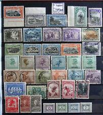 Belgien 1921-1930 Saub Erstfalz Kleines Lot 50 Werte