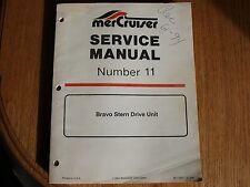 Mercruiser Service Manual #11  90-17431--2 Bound Original 1994, Brunswick Corp.