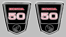 DAX 50 AUTOCOLLANTS X 2 STICKERS 9,5cmx8cm MOTO BIKER ENDURO TRAIL (HA131)