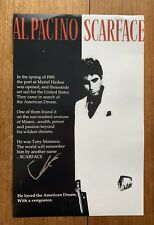 Al Pacino Signed Scarface 11x17 Photo Poster