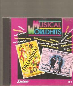 MUSICAL Worldhits 16 Titel Delta Music Laserlight