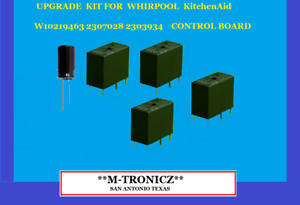 5 PART  KIT FOR WHIRLPOOL KitchenAid  CONTROL BOARD  W10219463 2303934  2307028