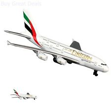 New Daron Emirates Airplane A380 Single Plane Aircraft Model