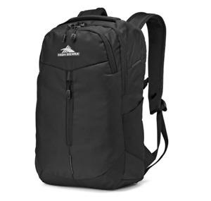 "High Sierra Swerve Pro 18"" Backpack Black NEW"