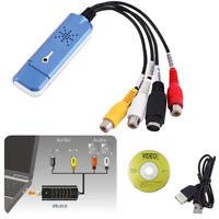 Adattatore USB Grabber per acquisizione video da USB 2.0 per Win / XP / 7/8/10