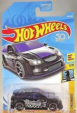 2018 Hot Wheels #234 Checkmate 7/9 AUDACIOUS Black w/Black OH5 spoke 50th Anniv