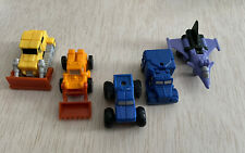Vintage 1980s Transformers G1 Lot of 5 Micro masters Not Complete