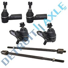6pc Ball Joints + Inner Outer Tie Rods for Toyota Corolla RAV4 w/ hydraulic rack