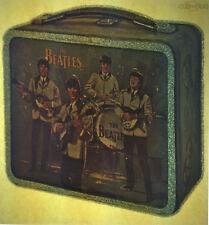Beatles lunch box, glitter, vintage retro tshirt transfer print new, NOS