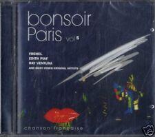 AA.VV.BONSOIR PARIS chanson française vol.5 CD Sealed