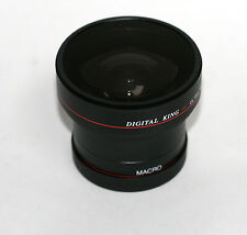 Digital King Fish Eye Wide Angle Lens for Nikon Pentax 52mm