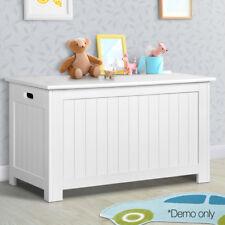 Kids Toy Cabinet Chest Storage Box White Eco-Friendly