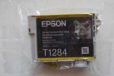 Genuine Original Epson T1284 Yellow Ink Cartridge Fox in sealed pack