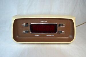 Vintage 1974 Westclox Big Ben Solid State  Alarm Clock #22028 FULLY TESTED