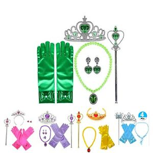 Girls Princess Costume Dress up Accessories set Assorted colours