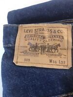 True Vintage NOS NWT Levis Orange Tab USA  🇺🇸 505  1970s-80s No Big E Selvedge