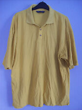 Top Mens Polo Shirt In Yellow by James Jordan Size X Large