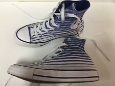 Converse All Star M4 W6 Chuck Taylor Blue And White Stripe