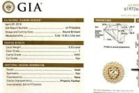 GIA certified .53ct VVS1 I loose brilliant round diamond estate vintage antique