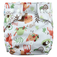Babyland Baby Washable Pocket Cloth Diaper Nappy with 1 Inserts Liner