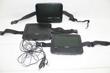 Philips Portable DVD Player 3 Screens Car Headrest PD7012/37 Great Scott! (#828)