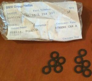 BMW valve adjusting washers (10) 11331258327 @Genuine@ NEW