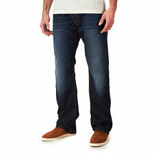 Pepe Jeans London ALBAN Loose Fit Jeans/Deep Blue - 32/34 WAS £85.00