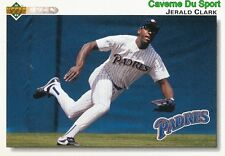 292 JERALD CLARK SAN DIEGO PADRES BASEBALL CARD UPPER DECK 1992