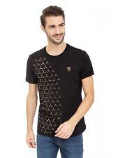 LAMBORGHINI Men's Y-Shape-Print T-Shirt, Black