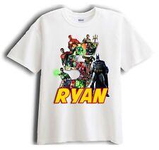 Justice League Batman Personalized - Birthday T-Shirt Party Favor