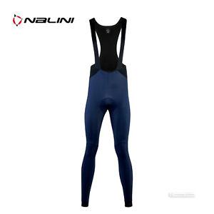NEW Nalini CLASSICA Warm Winter Cycling Bib Tights : BLUE