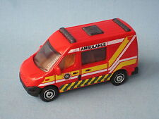 Matchbox Renault Master Ambulance Medic Rescue Red Body Toy Model Car Boxed