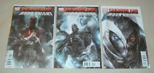 SHADOWLAND MOON KNIGHT 1-3 complete series lot run set 1 2 3 Daredevil
