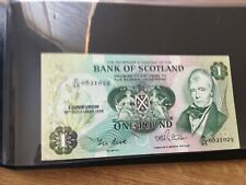 UK and Scottish Banknotes