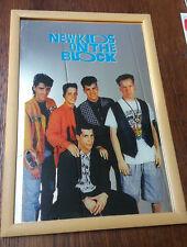 New Kids On The Block NKOTB Boyband pop boy band PRINTED MIRROR vintage music