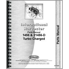 Parts Manual For Farmall 1456 Tractor Diesel Only
