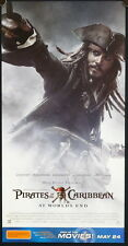 Pirates of the Caribbean: At Worlds End (2007) SET OF 5 Australian Daybills