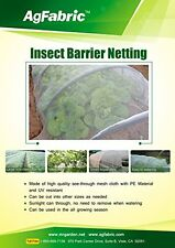 2x Agfabric 6.5'-Wx30'-L Mosquito Netting, Bug Insect barrier Bird Net Barrier
