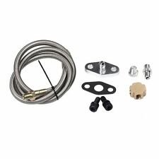 "36"" TURBO OIL INLET FEED LINE FITTING KIT FOR T3/T4 T25/T28 TURBO TURBOCHARGER"