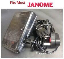 SEWING MACHINE OVERLOCKER FOOT CONTROL/PEDAL AND LEAD FITS MOST JANOME/ELNA U14