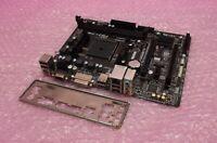 Gigabyte GA-F2A88XM-DS2 FM2 FM2+ DDR3 VGA USB 3.0 PCI-E Motherboard & Backplate
