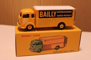 """SIMCA Cargo déménageur """"Bailly"""" 1/43 DINKY TOYS"""
