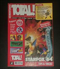 Total Nintendo Magazine German June 1997 Star Fox 64 Zelda Mario Kart