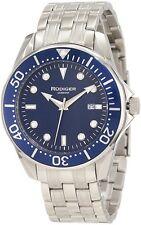 Rudiger Men's R2000-04-003 Chemnitz Date Stainless Steel Unidirectional Watch